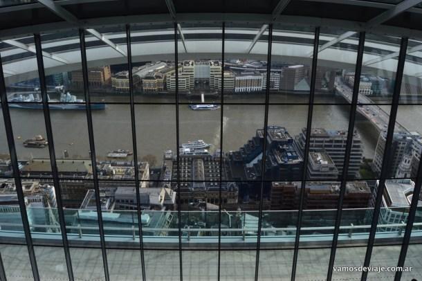 Vista desde el piso 37.