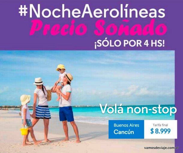 Pasajes baratos a Cancun