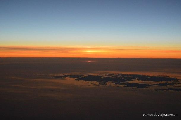 Sol de Medianoche llegando a Helsinki