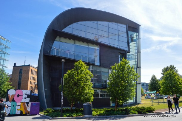 Kiasma. Museo de Arte Moderno de Helsinki.