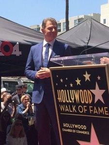 Bobby Flay na Calçada da Fama, em Hollywood
