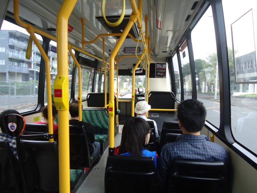 transporte público Nova Zelândia