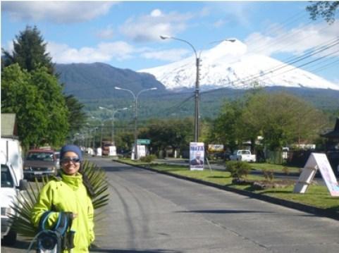 vulcão vilarica Pucon, Chile
