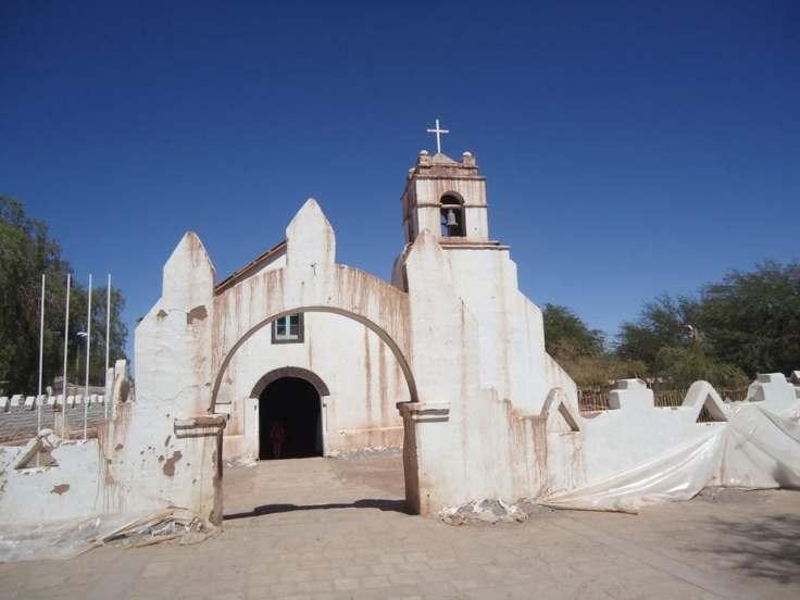 Igreja San Pedro de Atacama
