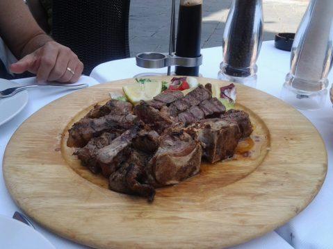 Siena- bisteca fiorentina