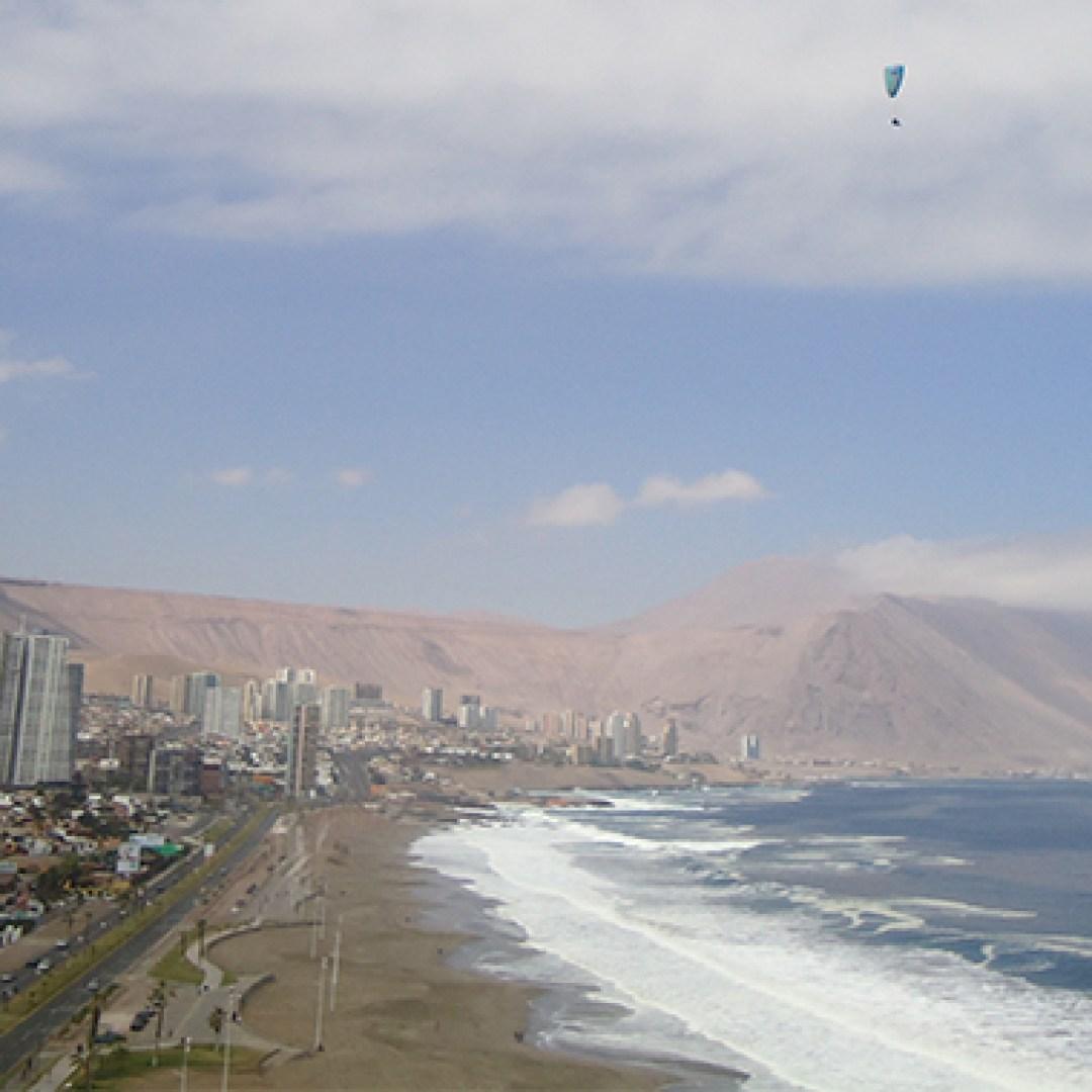 Parapente em Iquique