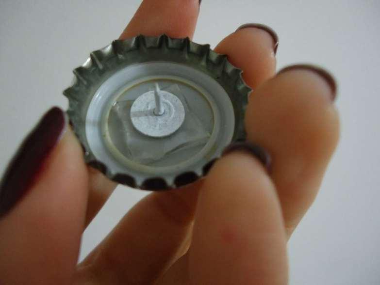 tampinhas de cerveja