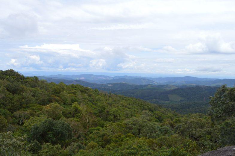 vista de Monte Verde na Pedra da Onça