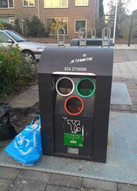 gerenciamento de lixo na Holanda
