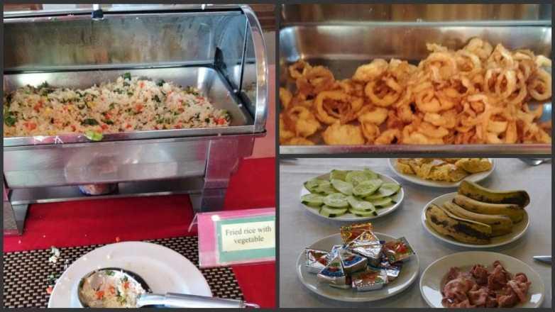 Café da manhã na tailândia - mosaico