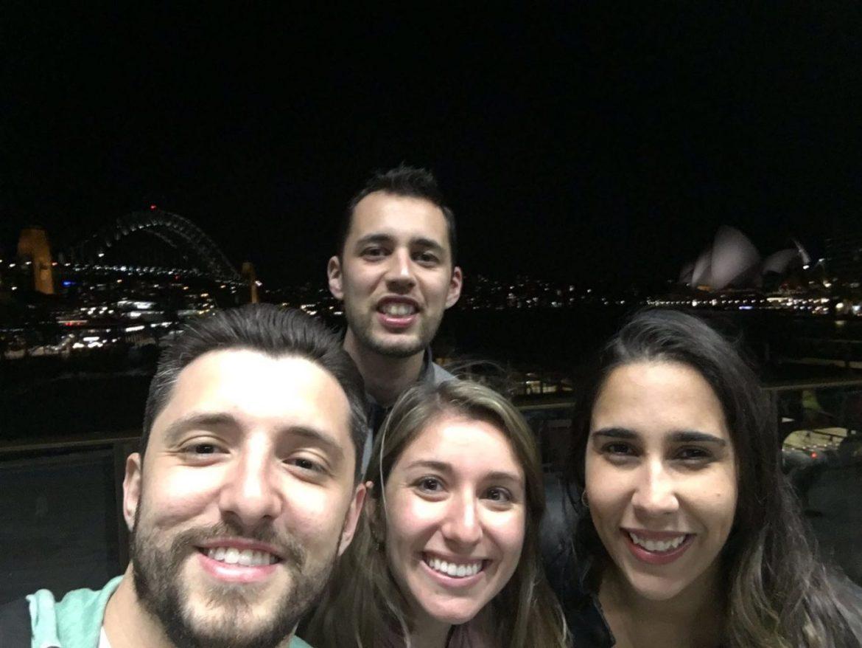 Primeira semana na Austrália