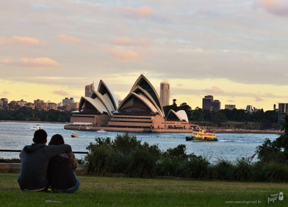 1 ano na Austrália