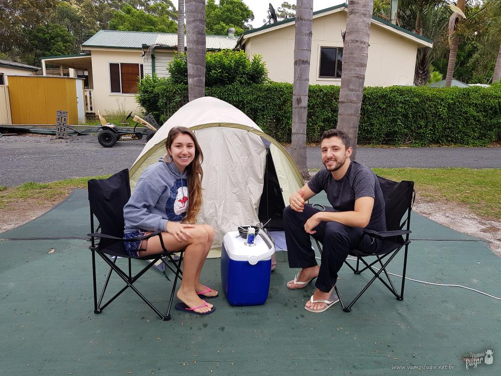 Onde acampar em Jervis Bay