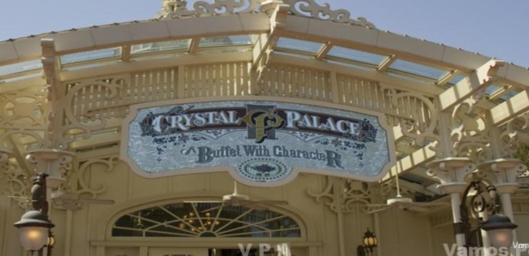 Magic Kingdom – Refeições com Personagens – Cristal Palace