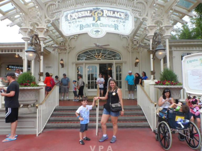 Refeições com Personagens no Magic Kingdom 1