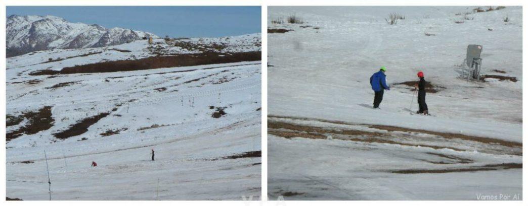 Neve em Farellones no Chile 7