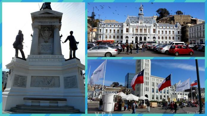 Roteiro em Valparaíso do Chile