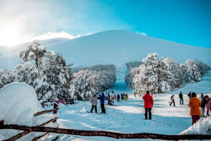 Antillanca no Chile, neve no chile