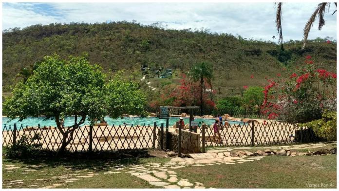 Piscina do Salto de Corumbá em Goiás