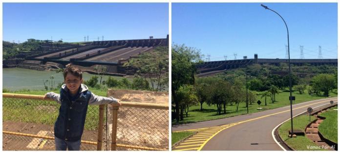 como é a visita panorâmica na usina de itaipu em Foz do iguaçu