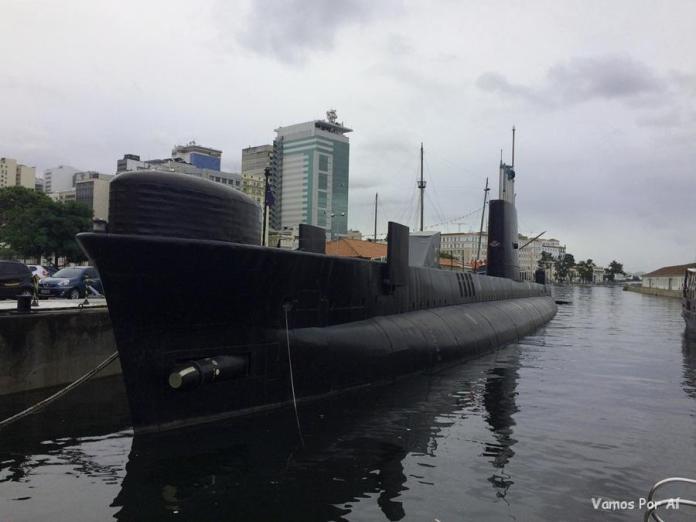 Submarino Riachuelo no Rio de Janeiro