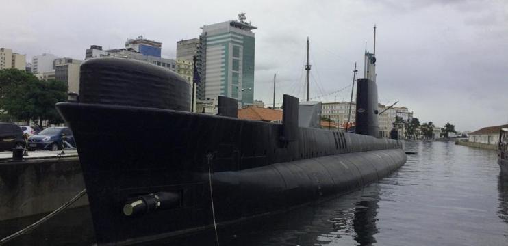 Entramos num Submarino de Verdade no Espaço Cultural da Marinha