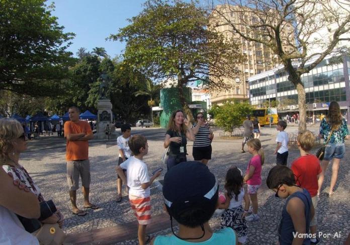 Roteiro no Centro de Florianópolis