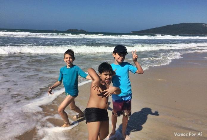 Praia dos Ingleses em Florianópolis