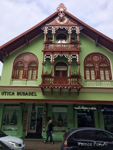 Rua XV de Novembro em Blumenau Santa Catarina