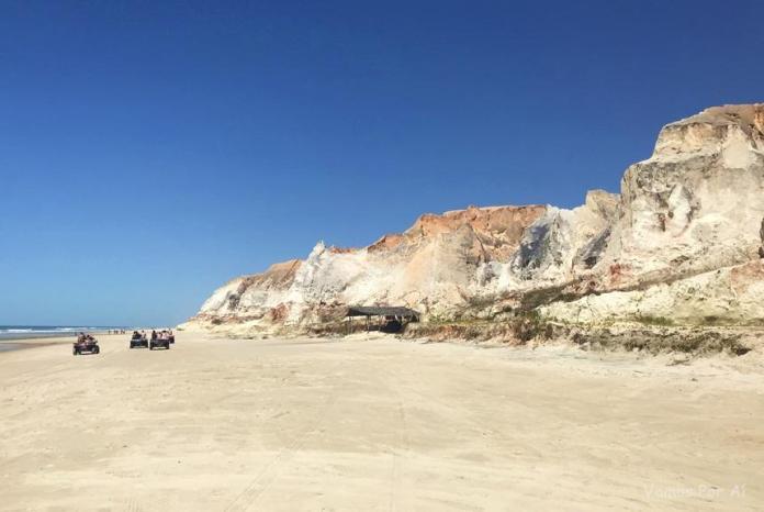 Passeio de buggy Praia das Fontes, morro branco e praia das fontes