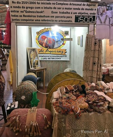 Complexo Artesanal Aquiraz: passeios em Fortaleza, maior renda do Brasil