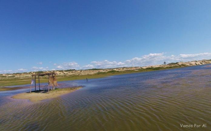 Lagoa do Jegue no Ceara