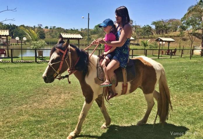 Passeio a cavalo - Arca Parque