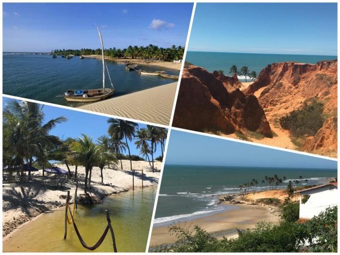 passeios de um dia partindo de Fortaleza, melhores passeios em Fortaleza, passeios no Ceará, praias de Fortaleza