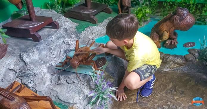 Esculturas que falam no Parque da Serra em Canela