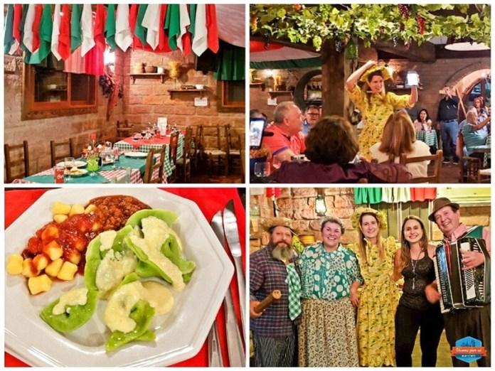 Roteiro em Gramado - Noite Italiana - restaurantes em Gramado