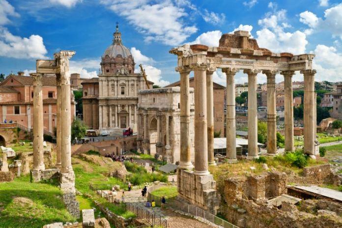 Fórum Romano em Roma na Itália, o que fazer em Roma, pontos turísticos de Roma