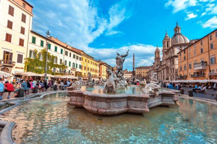 Praças mais importantes de Roma: Praça Navona , Piazza Navona em Roma