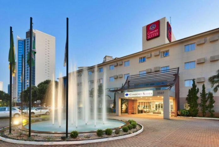 Hotéis em Goiânia no Jardim Goiás: Comfort Suítes , melhores hoteis de goiania, bons hoteis em goiania