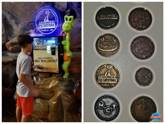 Colecionar moedas em Gramado