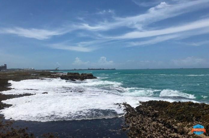 paradas dos passeio de buggy: Praia de Camboa