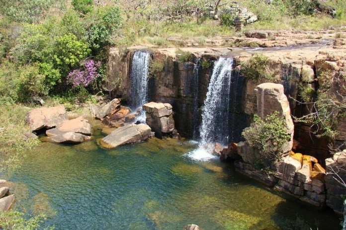 Cachoeira do Arrojado em Cristalina - o que fazer em Cristalina