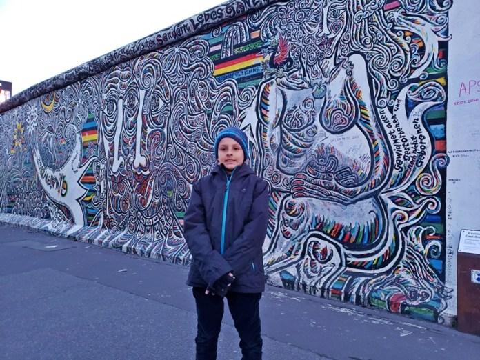 Muro de Berlim, passeio em Berlim com crianças