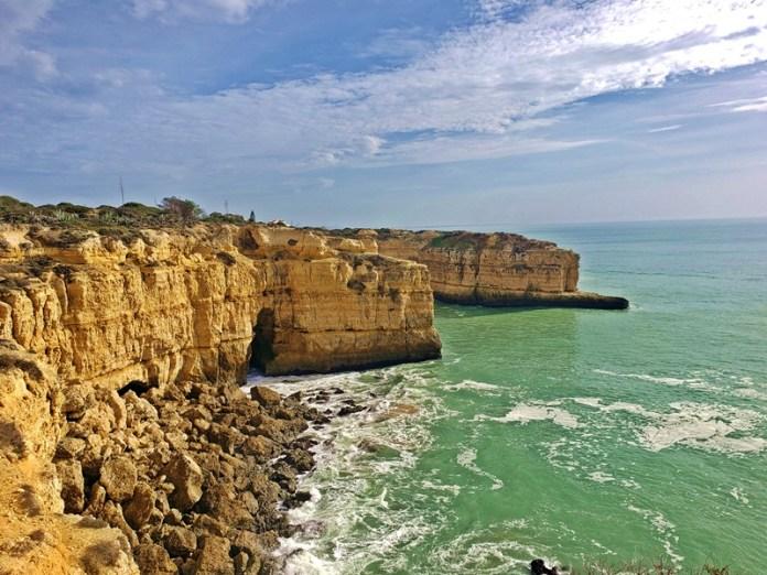 Praias do Algarve, Prais no Algarve, Praias em Albufeira, Praias mais bonitas de Albufeira, Algarve no inverno