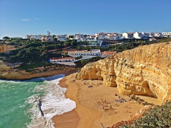 Praia de Benagil, praias do Algarve, Praias de Portugal, Benagil Algarve