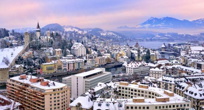 inverno na Europa, suíça, cidades para visitar no inverno na suíça, neve na suiça