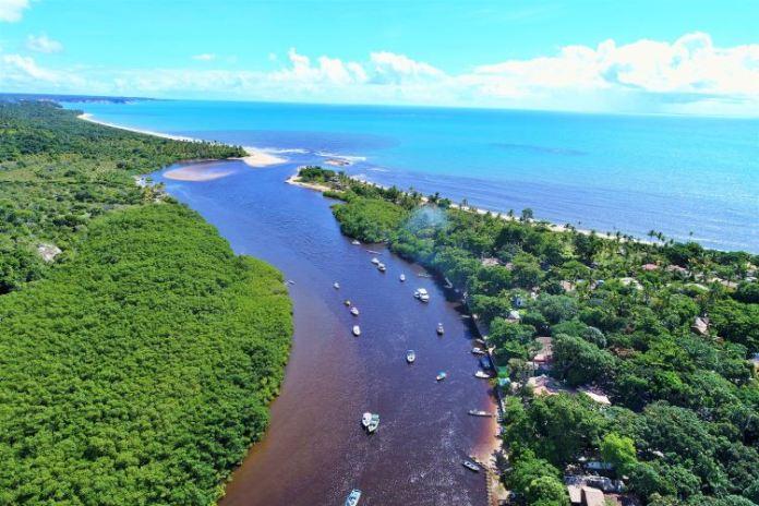 Melhores praias da Bahia, Caraíva na Bahia, caraiva, praias perto de trancoso