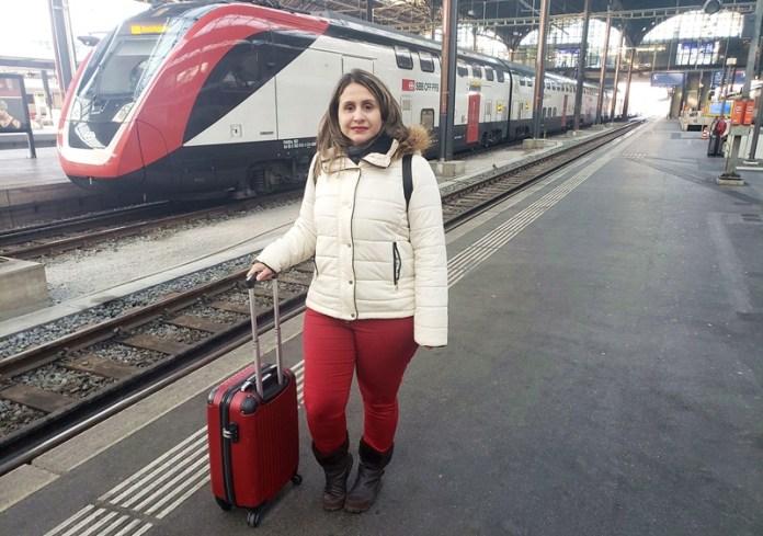 viagem de trem na europa, viagem de trem entre berna e paris, trem entre colonia e berlim