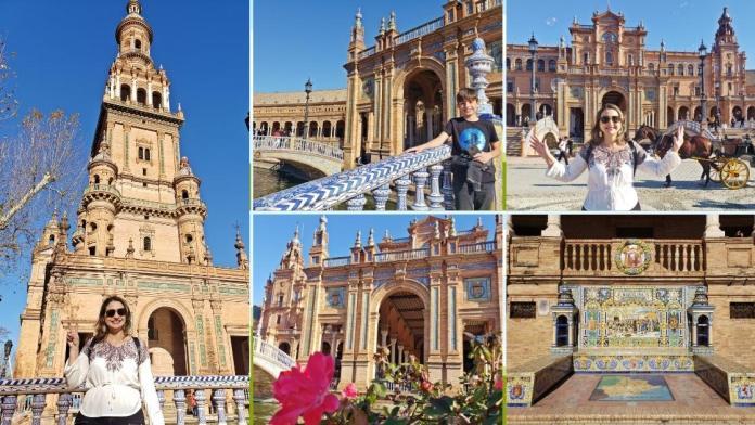 passeios em Sevilha, o que fazer em sevilha, Praça da Espanhaem Sevilha