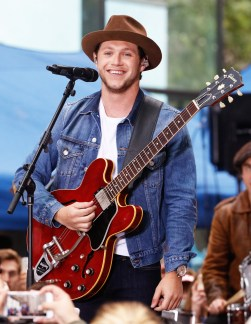 Nyall Horan performs on The Today Show
